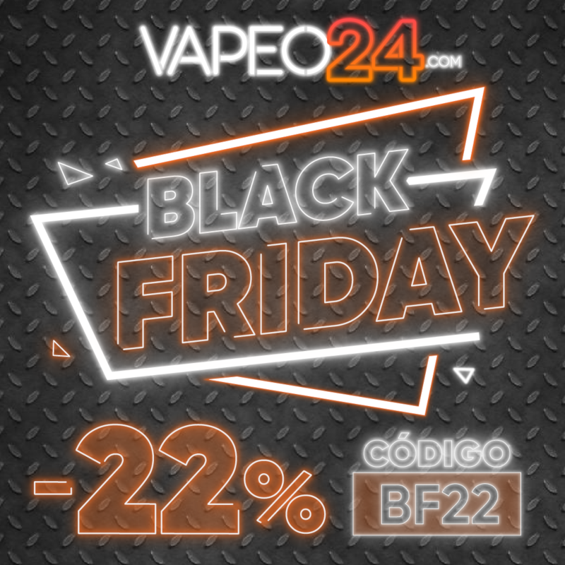 Arranca el mes del BLACK FRIDAY en Vapeo24