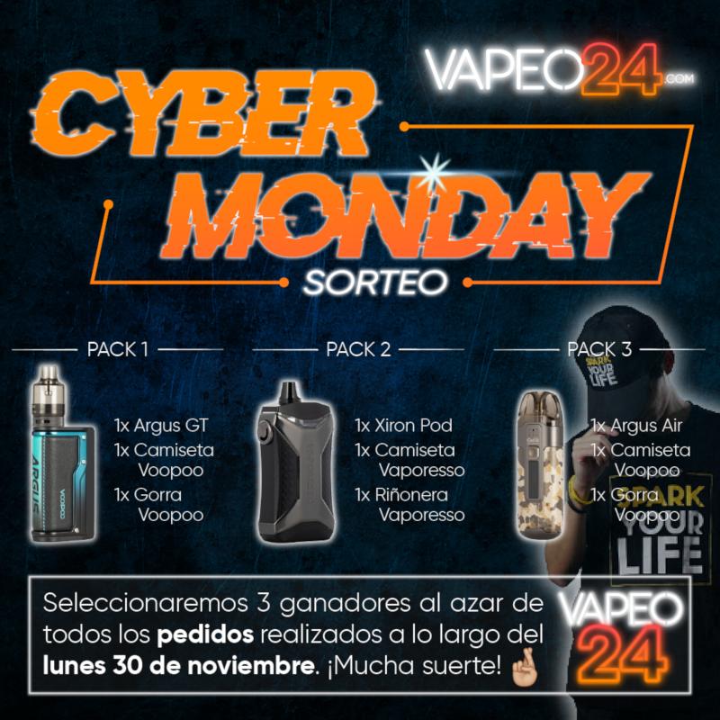 Arranca el mes del Cyber Monday en Vapeo24