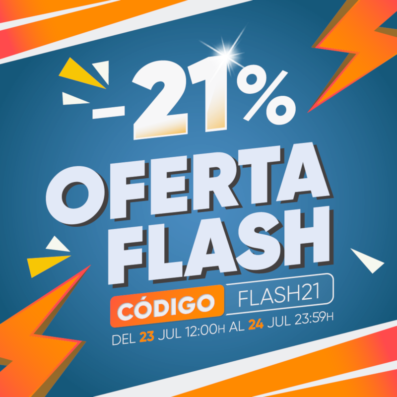 Oferta flash -21%