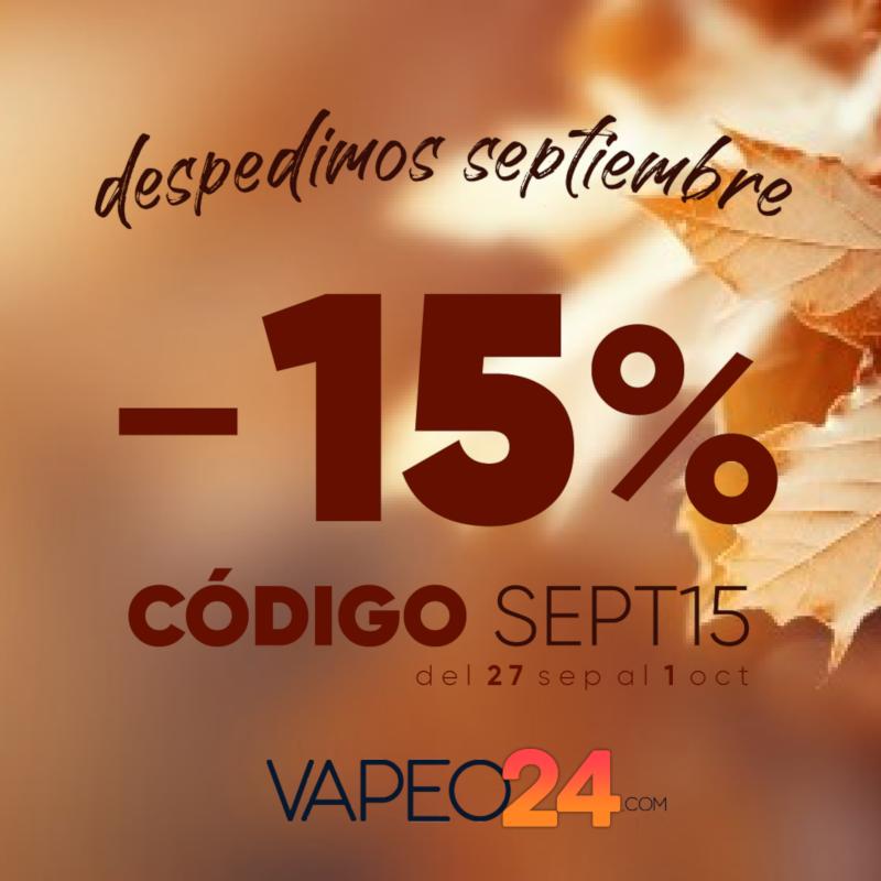 ¡Celebra la llegada de otoño en Vapeo24!