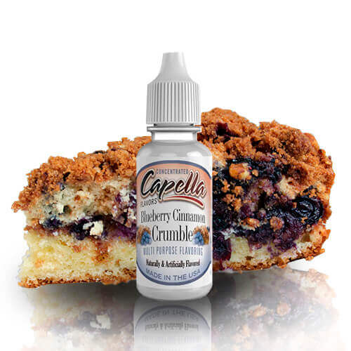 Aroma Capella Flavors Blueberry Cinnamon Crumble 13ML