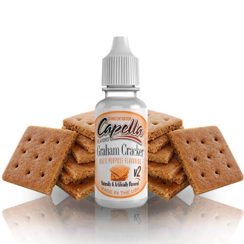 Aroma Capella Flavors Graham Cracker V2 13ML