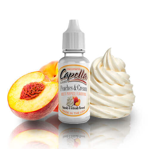 Aroma Capella Flavors Peaches and Cream 13ML