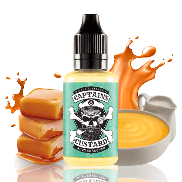 Aroma Captains Custard Butterscotch 30ml