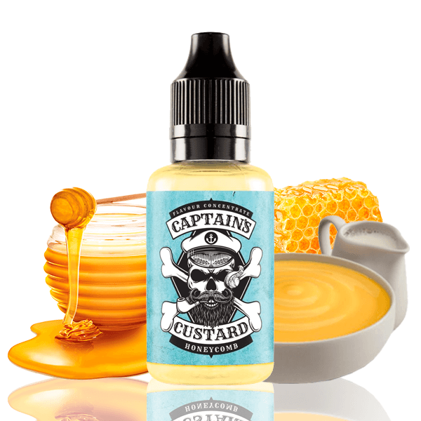 Aroma Captains Custard Honeycomb 30ml