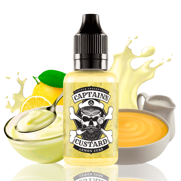 Aroma Captains Custard Lemon Curd 30ml