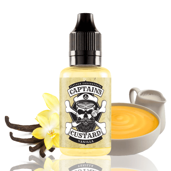 Aroma Captains Custard Vanilla 30ml