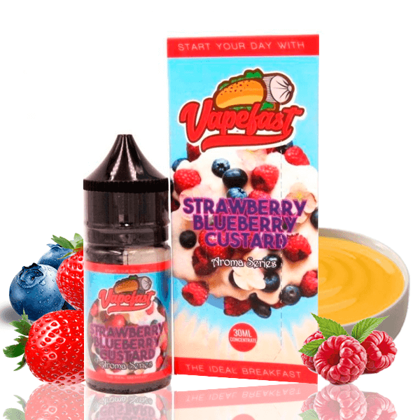 Aroma Vapefast Strawberry Blueberry Custard 30ml