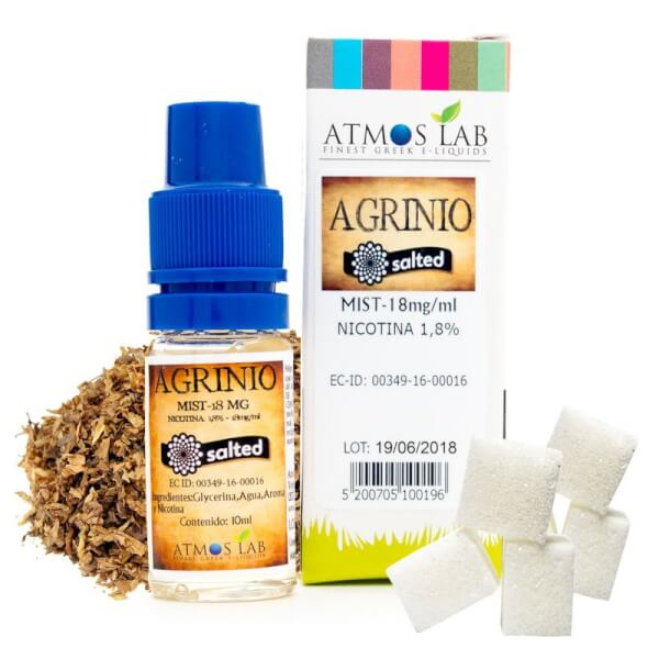 Atmos Lab Agrinio Mist Salted Mist 10ml