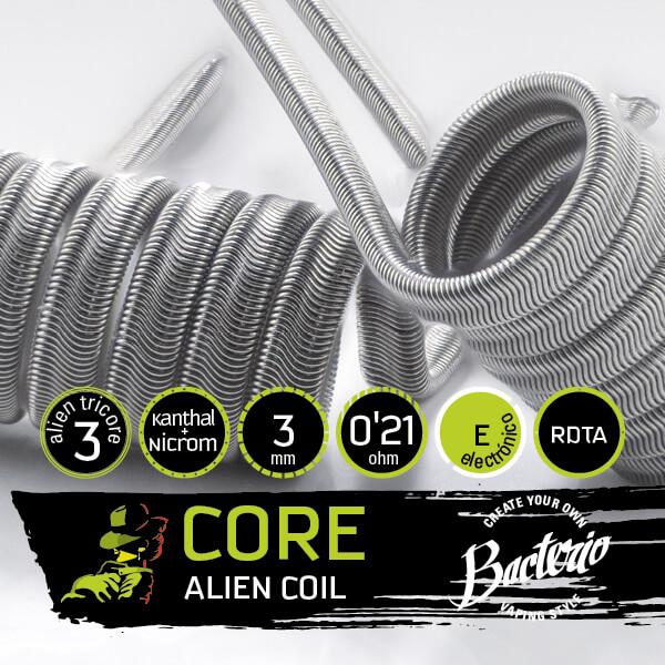Bacterio Coils - Alien Ka1/Ni80 (Resistencias Artesanales)