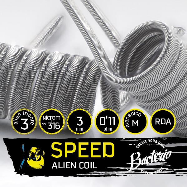 Bacterio Coils - Alien SS316 (Resistencias Artesanales)