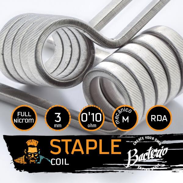 Bacterio Coils - Staple Full Ni80 (Resistencias Artesanales)
