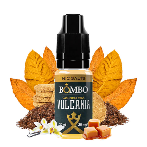 Bombo Vulcania Nic Salts - Golden Era