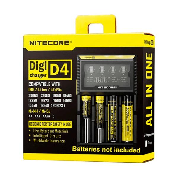 Cargador Nitecore Digicharger D4