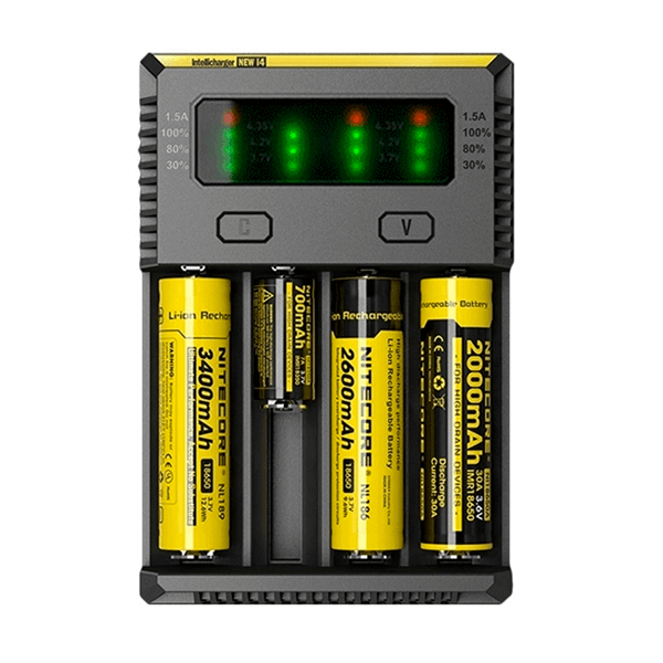 Cargador Nitecore New Intellicharger i4