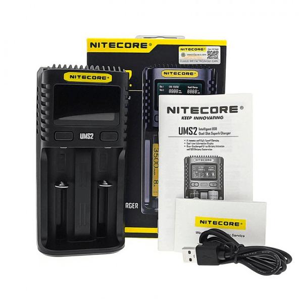 Cargador Nitecore UMS2 Intelligent USB