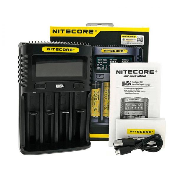 Cargador Nitecore UMS4 Intelligent USB