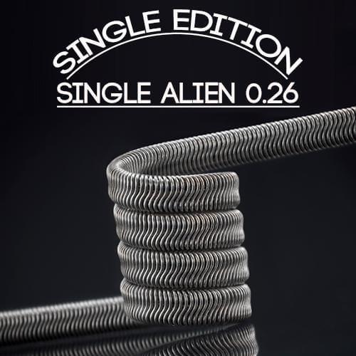 Charro Coils Single 0.26 (Resistencias Artesanales)