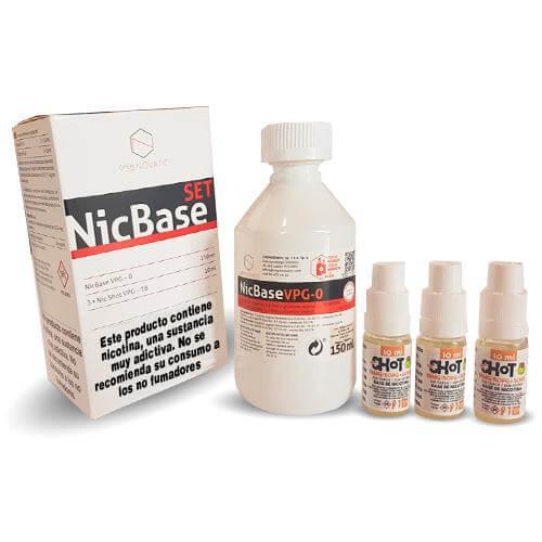 Chemnovatic Pack Base + NicShot(180ml)