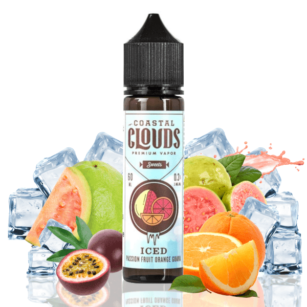 Coastal Clouds Sweets Iced Passion Fruit Orange Guava