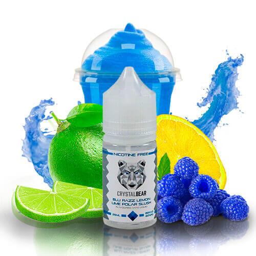 Crystal Bear - Blue Razz Lemon Lime Polar Slush