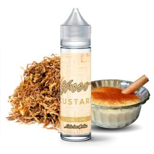 Custard Bacco - Burst E-Juice