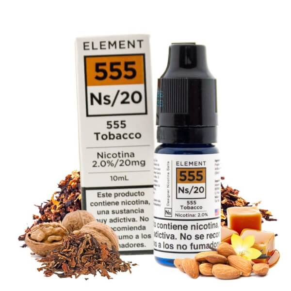 Element Salts 555 Tobacco