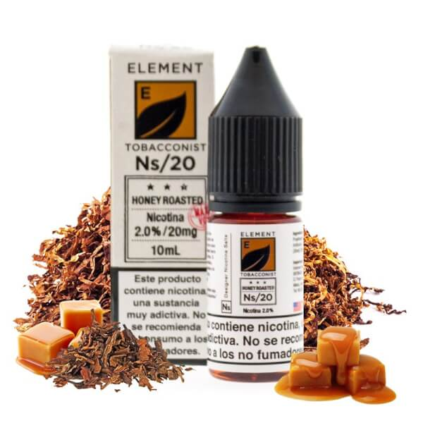 Element Salts Tobacconist Honey Roasted