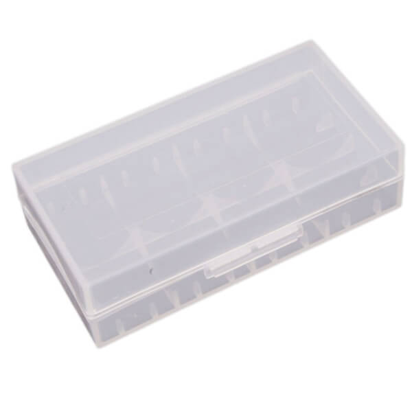 Funda Estuche de plastico para Baterías 18650