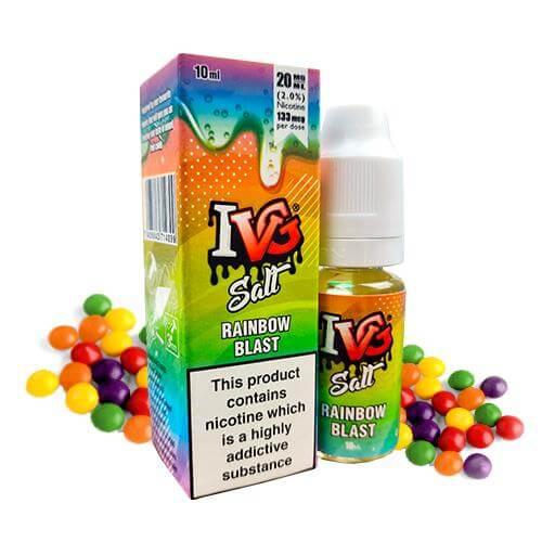 I VG Nic Salt Rainbow Blast 10ml