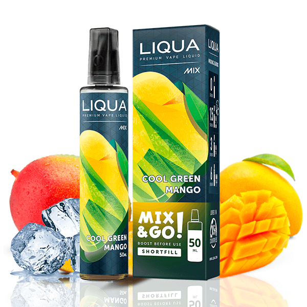 Liqua Mix Cool Green Mango 50ml
