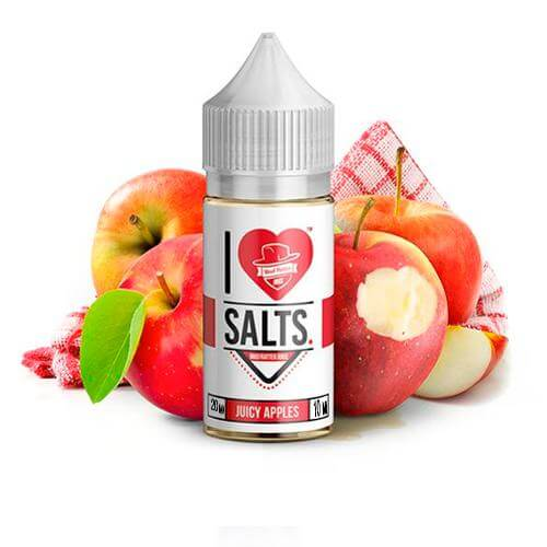 Mad Hatter I Love Salts Juicy Apples 20mg