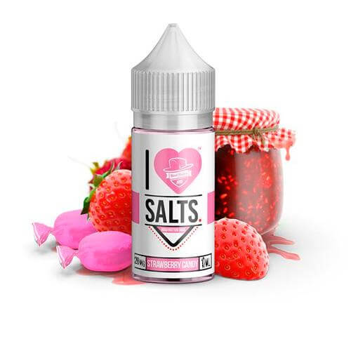Mad Hatter I Love Salts Strawberry Candy 20mg