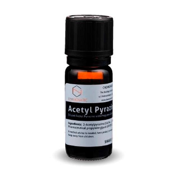 Molécula Acetyl Pyrazine - Chemnovatic