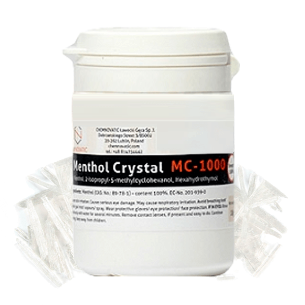 Molécula Menthol Crystal - Chemnovatic