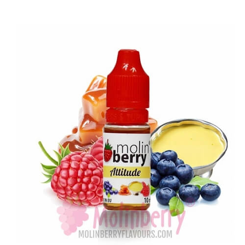 Molin Berry Attitude Flavour 10ML