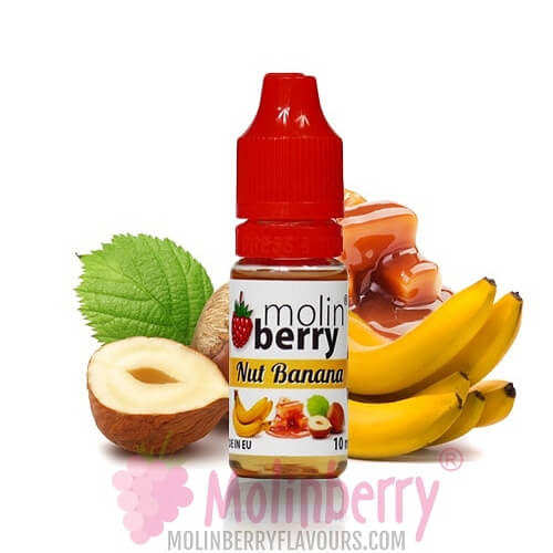 Molin Berry Nut Banana Flavour 10ML