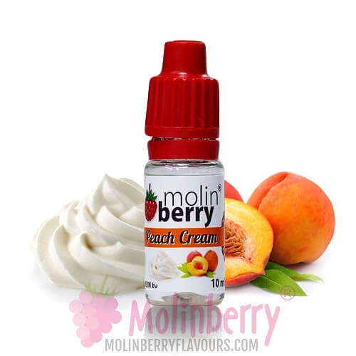 Molin Berry Peach Cream Flavour 10ML