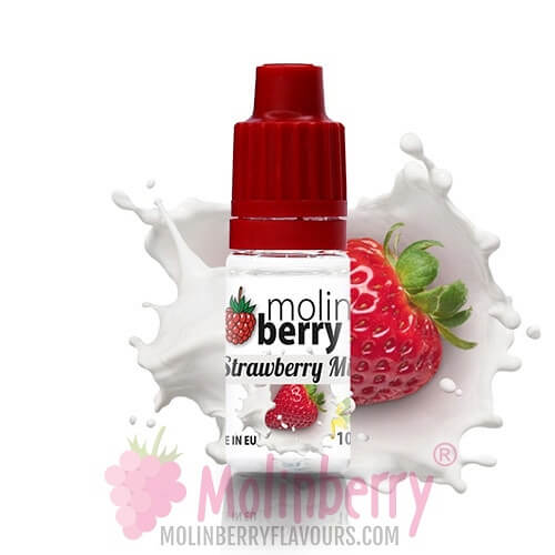 Molin Berry Strawberry Milk Flavour 10ML