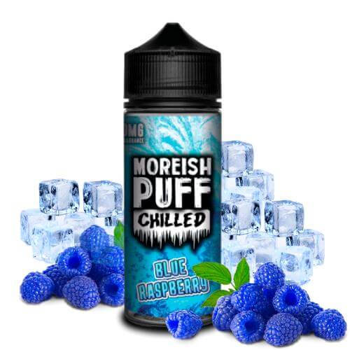 Moreish Puff Chilled Blue Raspberry