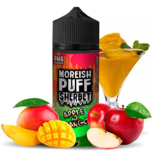Moreish Puff Sherbet Apple & Mango