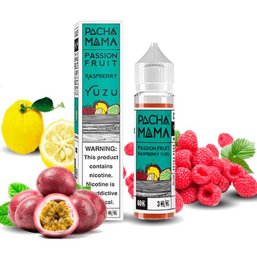 Pachamama Passion fruit Raspberry Yuzu