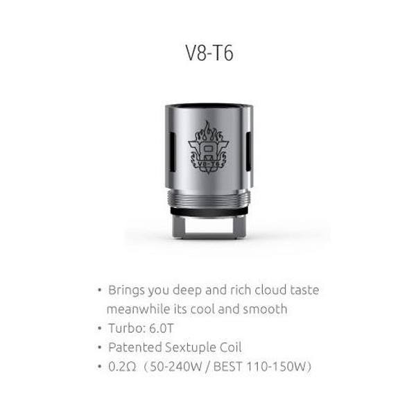 Resistencias Smok TFV8 V8-T6 Coil
