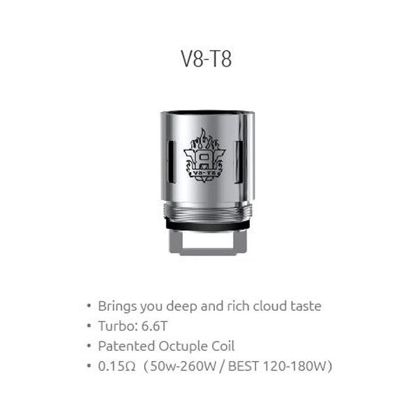 Resistencias Smok TFV8 V8-T8 Coil