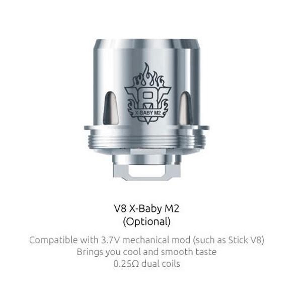 Resistencias Smok TFV8 X Baby Coil