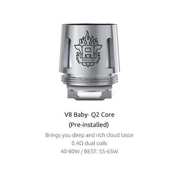 Resistencias Smok V8 Baby Q2 Coil