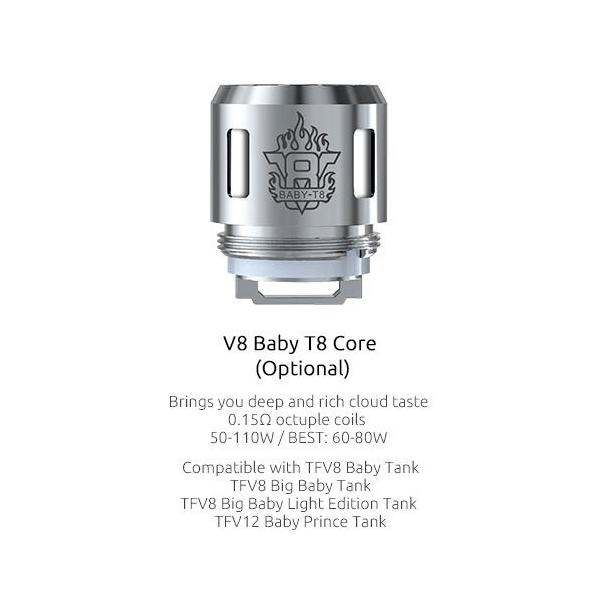 Resistencias Smok V8 Baby T8 Coil