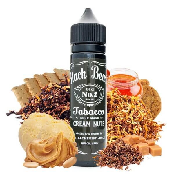 Tabacco Cream Nuts - The Alchemist Juice