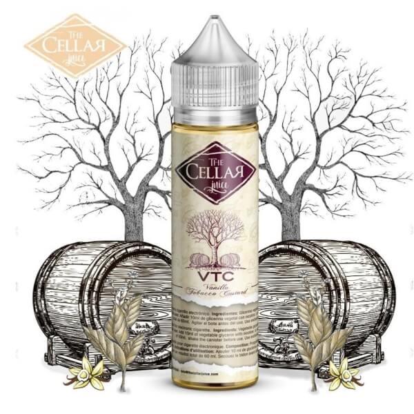 The Cellar Juice Vanilla Tobacco Custard VTC