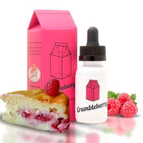 The Milkman E-liquids Crumbleberry